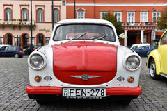 Trabant εκλεκτής ποιότητας αυτοκίνητο από την ανατολική Γερμανία Στοκ Εικόνες