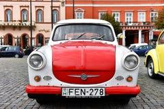 Trabant εκλεκτής ποιότητας αυτοκίνητο από την ανατολική Γερμανία Στοκ φωτογραφία με δικαίωμα ελεύθερης χρήσης