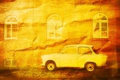 trabant сбор винограда Стоковые Фотографии RF