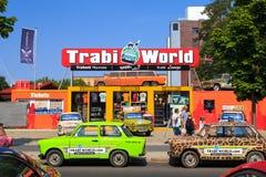 Trabant автомобили в Берлине Стоковые Изображения RF