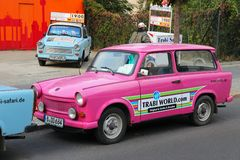Trabant Auto Lizenzfreies Stockbild