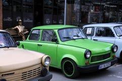 Trabant-Auto's in Veliko Tarnovo Royalty-vrije Stock Afbeelding