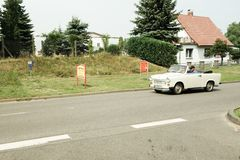 Trabant Cabriolet from DDR Royalty Free Stock Images