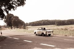 Trabant Cabriolet from DDR Stock Photos