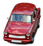 Trabant Car. Isolated Red eastern Germany Trabant car (without background Royalty Free Stock Images