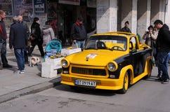 Trabant convertibile in Veliko Tarnovo Fotografia Stock Libera da Diritti