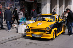 Trabant convertível em Veliko Tarnovo Foto de Stock Royalty Free