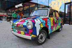 Trabant i Tyskland Royaltyfri Fotografi
