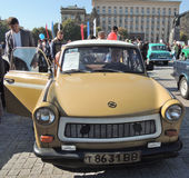 Trabant 601 Limousine royalty-vrije stock afbeeldingen