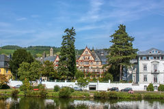 Traben-Trarbach, Germany. Traben-Trarbach is a picturesque town on the Middle Moselle, Germany stock images