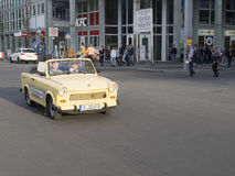 Trabi car, Berlin, Germany Stock Images