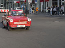 Trabi car, Berlin, Germany Royalty Free Stock Images