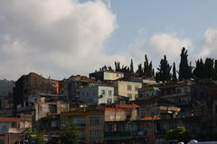 Trabzon Turkey. Slum like houses in Turkey Stock Photography