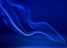 Tracce astratte del fumo Fotografie Stock Libere da Diritti