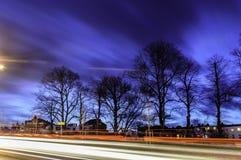Tracce dei semafori Fotografie Stock