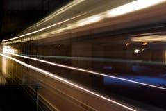 Tracce del treno Immagine Stock