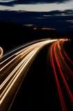 Tracce dell'indicatore luminoso Fotografia Stock Libera da Diritti