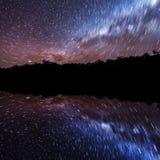 Tracce della stella   Fotografia Stock Libera da Diritti