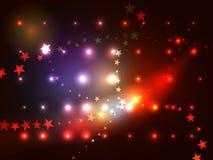Tracce della stella Immagini Stock