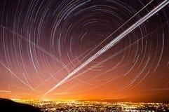 Tracce della stella del San Jose Immagini Stock Libere da Diritti