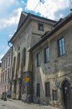 Tracce di Cracovia ebrea Fotografia Stock