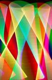Tracce di luce Immagini Stock