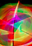 Tracce di luce Fotografie Stock