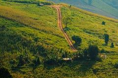 Tracce di montagna Fotografie Stock Libere da Diritti