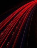 Tracce di traffico Immagine Stock
