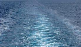 Traccia al mare Fotografia Stock Libera da Diritti