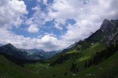 Traccia alpina Fotografia Stock Libera da Diritti