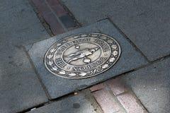 Traccia Boston mA di libertà Fotografie Stock Libere da Diritti