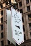 Traccia Boston mA di libertà Fotografia Stock