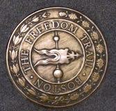 Traccia Boston Massachusetts di libertà Fotografia Stock Libera da Diritti