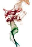 Traccia del fumo Fotografie Stock