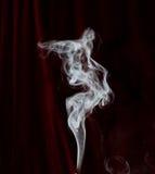 Traccia del fumo Immagini Stock