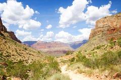 Traccia del grande canyon Fotografie Stock