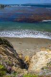 Traccia del punto di Granit, riserva dello stato di Lobos del punto immagini stock libere da diritti