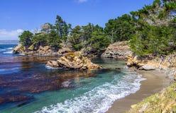 Traccia del punto di Granit, riserva dello stato di Lobos del punto immagine stock libera da diritti