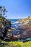 Traccia del punto di Granit, riserva dello stato di Lobos del punto fotografia stock