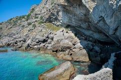 Traccia del ` s di Golitsyn: Grotta di Chaliapin della grotta di Golitsyn Fotografia Stock Libera da Diritti