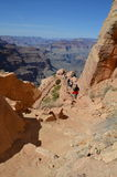 Traccia del sud di Kaibab - Grand Canyon Fotografia Stock Libera da Diritti
