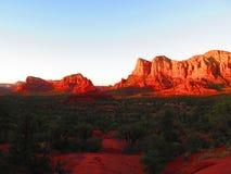 Traccia della roccia di Bell in Sedona, Arizona Immagini Stock