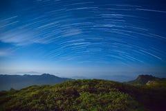 Traccia della stella Fotografie Stock Libere da Diritti