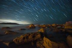 Traccia della stella Fotografia Stock Libera da Diritti