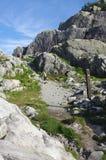 Traccia di Baden-Powell, fotografia stock