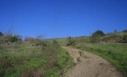 Traccia di Cerro Rebal Fotografie Stock Libere da Diritti