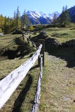 Traccia di escursione fotografia stock