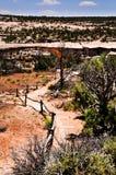 Traccia di escursione del deserto Immagini Stock