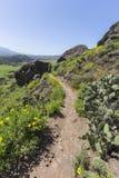 Traccia di escursione del parco di Wilwood in Thousand Oaks California Fotografie Stock Libere da Diritti